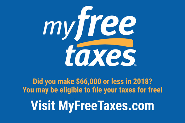 MyFreeTaxes Banner